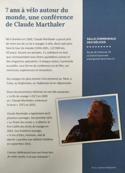 Claude Marthaler – Tour du monde à vélo