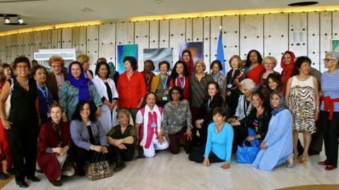 Vernissage de l'expo des artistes du Cercle Féminin de l'ONU