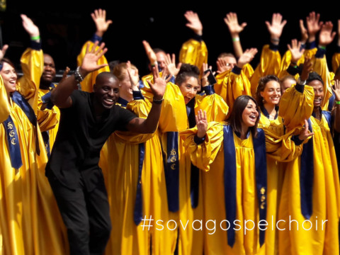 Patrice's live @ Sova Gospel Choir @