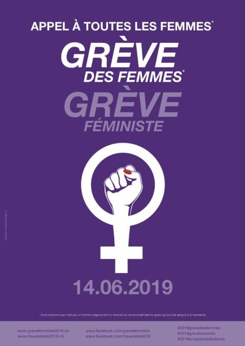 La Grève des Femmes le 14 Juin 2019
