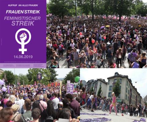 Merissa en immersion dans la grève féministe du 14 juin 2019