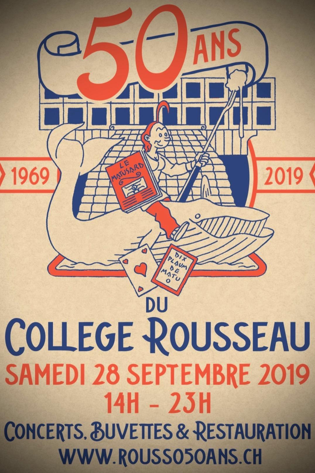 50 ans Collège Rousseau