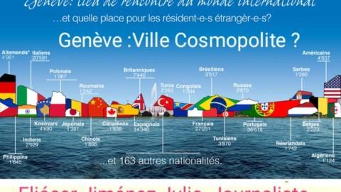 Genève une ville cosmopolite  ?