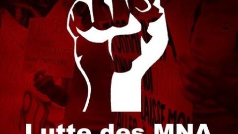 Reportage de la manifestation du mardi 21 janvier 2020 à la Place Neuve du Collectif de lutte pour les MNA et RMNA