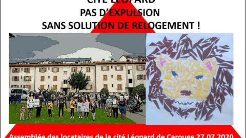Marjo reportage sur la Cité Léopard à Carouge