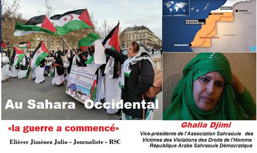 Au Sahara occidental, «la guerre a commencé».