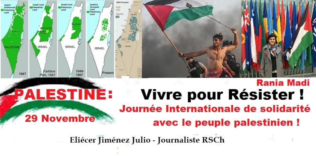 Palestine : Vivre pour Résister !