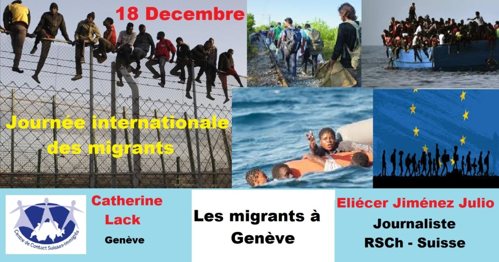 Journée Internationale des migrants 18 décembre 2020