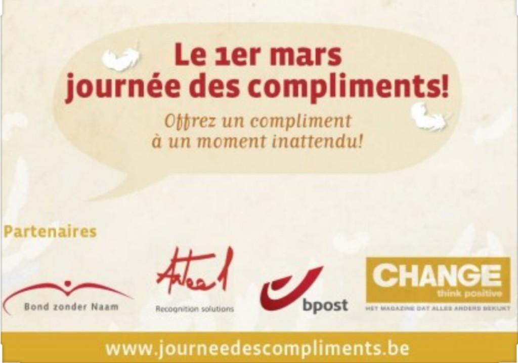 MCGJ : Journée Mondiale des Compliments - 1 Mars 2021
